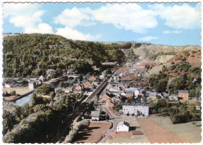 0074 - COMBLAIN-LA-TOUR – Carte postale : Vue à partir du Rocher de la Vierge