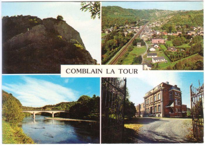 0075 : COMBLAIN-LA-TOUR : Carte postale