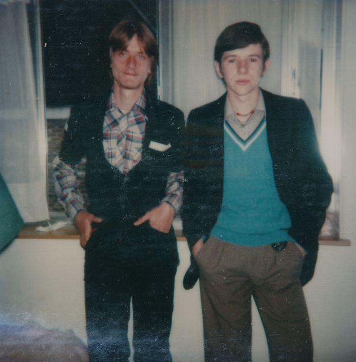 0116 : COMBLAIN-LA-TOUR - 1979 : Piotr Rozinski ; Freddy Motala.