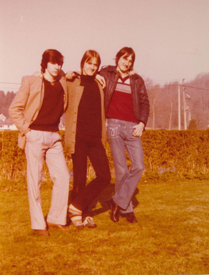 0117 : COMBLAIN-LA-TOUR – 1980 : Freddy Motala ; Piotr Rozinski ; Michel Konarski.