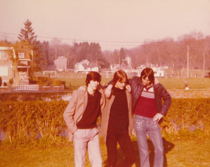 0118 : COMBLAIN-LA-TOUR – 1980 : Freddy Motala ; Piotr Rozinski ; Michel Konarski.