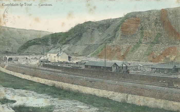 137 : COMBLAIN-LA-TOUR – Carrières des Hayires sur la route du camp des gitans