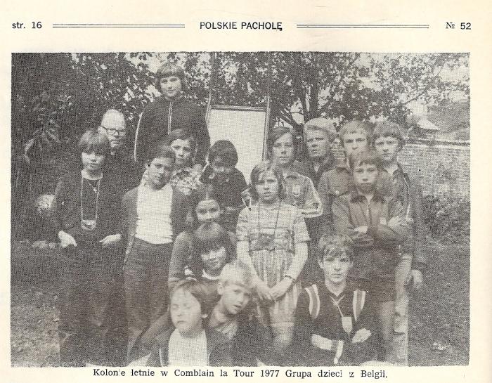 0176_1977 : COMBLAIN-LA-TOUR : Extrait du journal Narodowiec : Ks Kurzawa ; Pani Merta ; ? ……